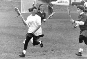 RPI lacrosse player, circa 1994