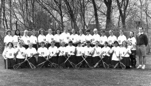 Women's lacrosse team, 1994