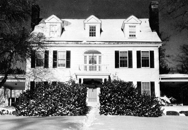 Alpha Tau Omega fraternity house.