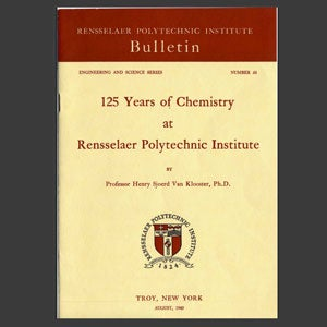 Cover of the 125 Years of Chemistry bulletin