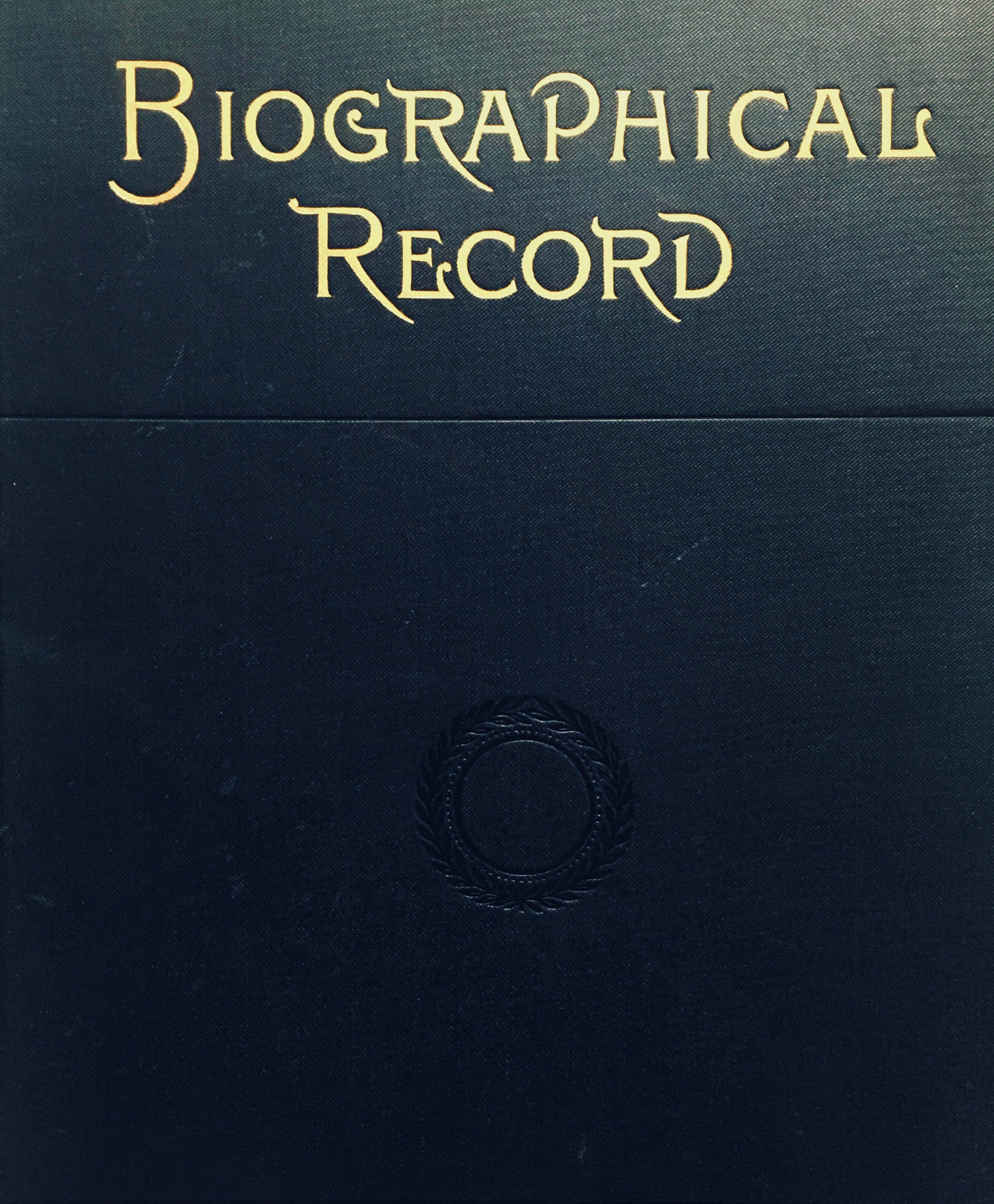 Cover of the book Biographical Record of Officers and Graduates from 1887
