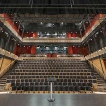 View of Empac from the stage