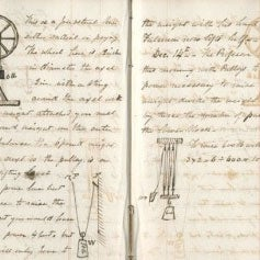 Early civil engineering document