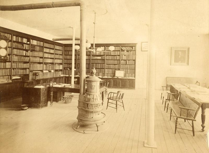 Library, inside the Main building.