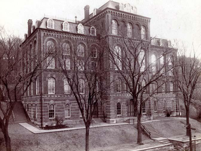 Rensselaer Main Building, 1864-1904