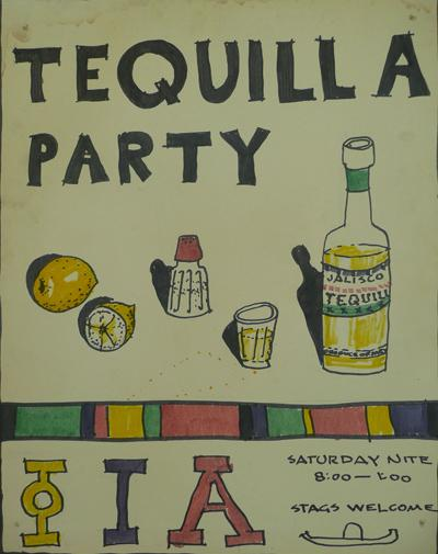 Phi Iota Alpha, Tequilla Party