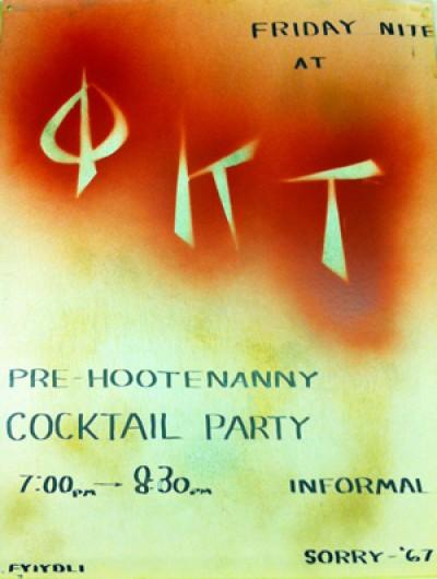 Phi Kappa Tau, Pre-Hootenanny Cocktail Party