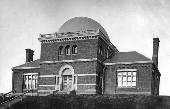 Exterior of the Proudfit Laboratory (east elevation, date unknown)