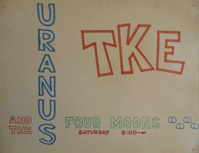 Tau Kappa Epsilon, Uranus and the Four Moons