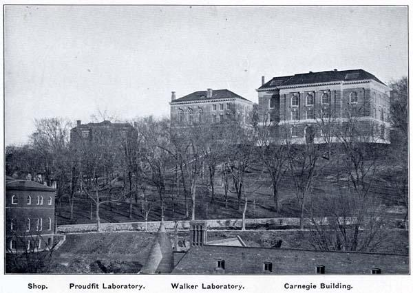 Winslow, Proudfit, Walker and Carnegie in 1907.