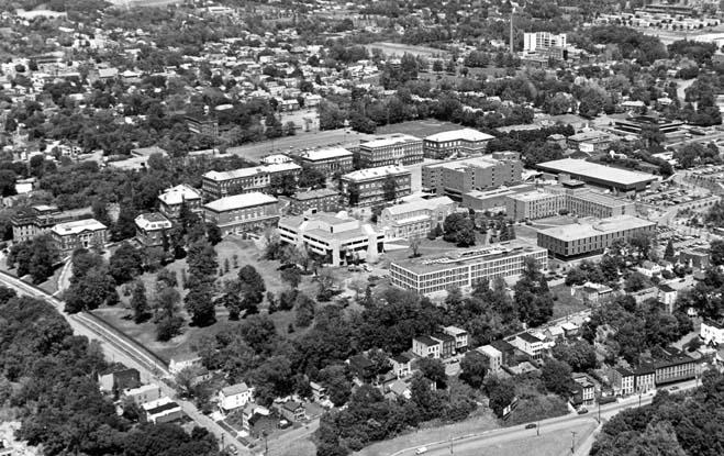 By 1978, the Folsom Library and Jonsson Engineering Center are complete.