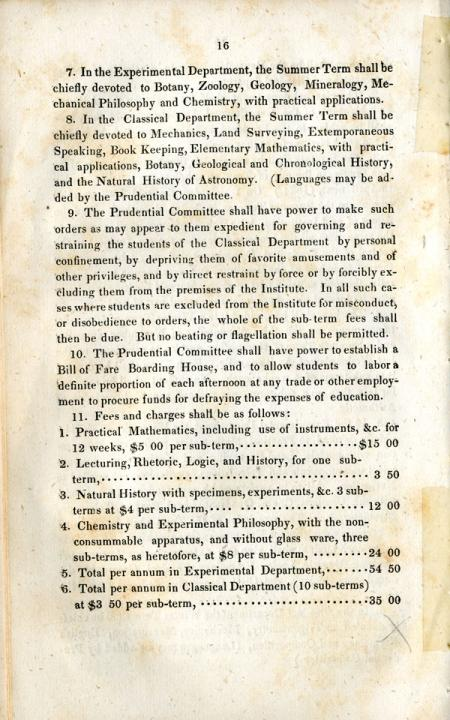 By Laws of the Rensselaer School, 1833 - page 3