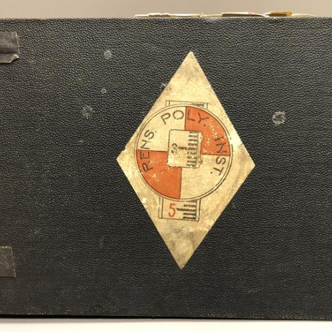 Student scrapbook from 1910